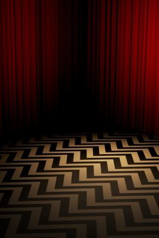wallpaper iPhone The Black Lodge