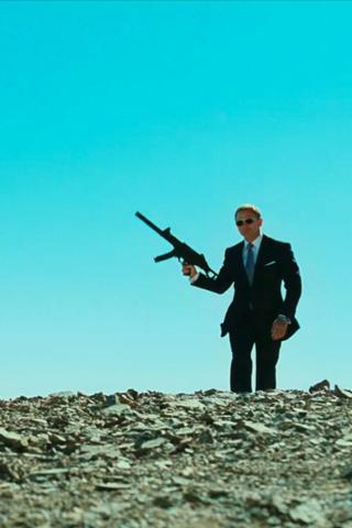 wallpaper iPhone James Bond