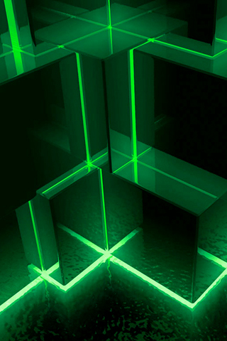 wallpaper iPhone Matrix Cubes