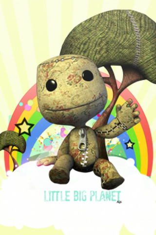 wallpaper iPhone Little Big Planet
