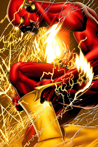 wallpaper iPhone Flash Rebirth