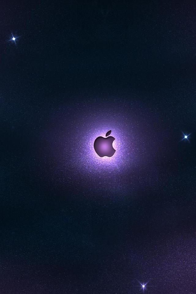 wallpaper iPhone Apple Space