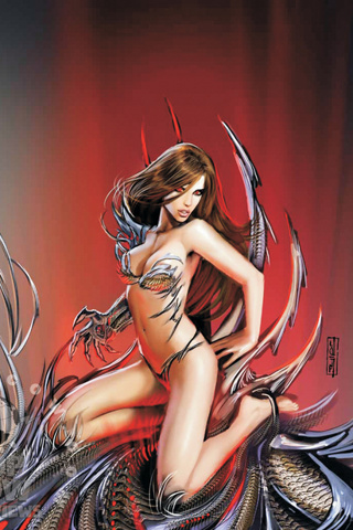 wallpaper iPhone Witchblade