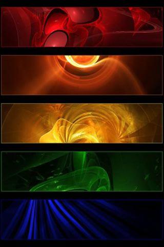 wallpaper iPhone Color Panels