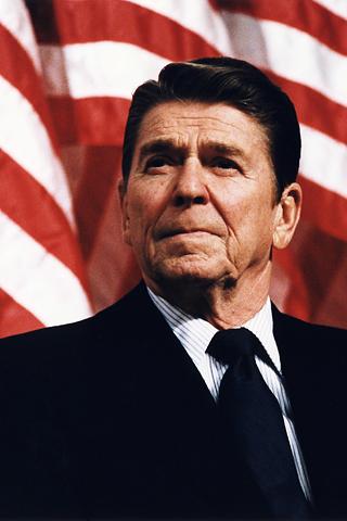 wallpaper iPhone Ronald Reagan