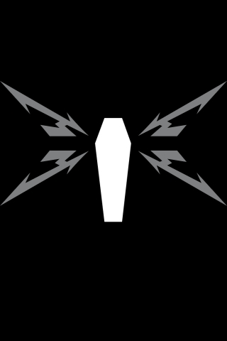 wallpaper iPhone Death Magnetic