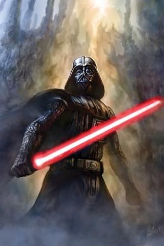 wallpaper iPhone Darth Vader