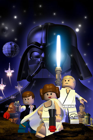 wallpaper iPhone LEGO Star Wars