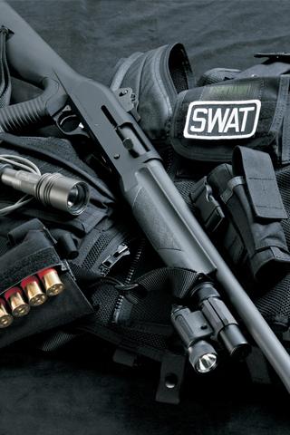 wallpaper iPhone SWAT Gear