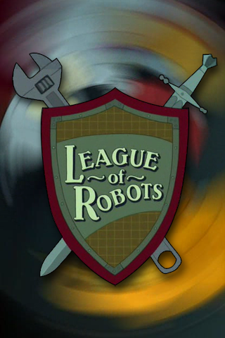 wallpaper iPhone League of Robots
