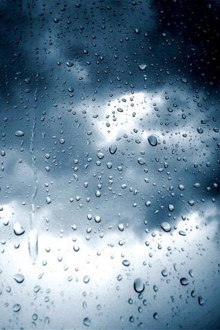 wallpaper iPhone Raindrops