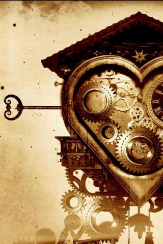 wallpaper iPhone Clockwork