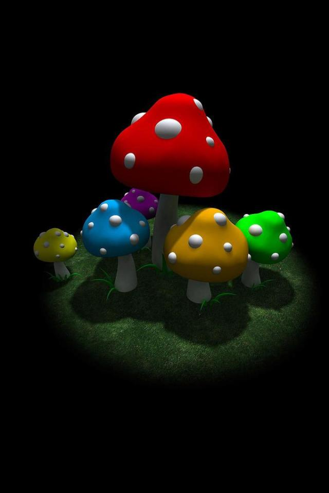 wallpaper iPhone Mushrooms