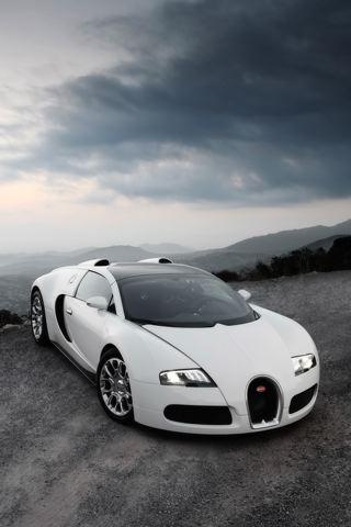 wallpaper iPhone Bugatti Veyron GS
