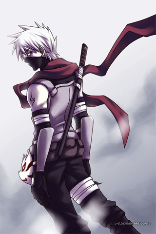 Wallpaper Iphone Kakashi 3614