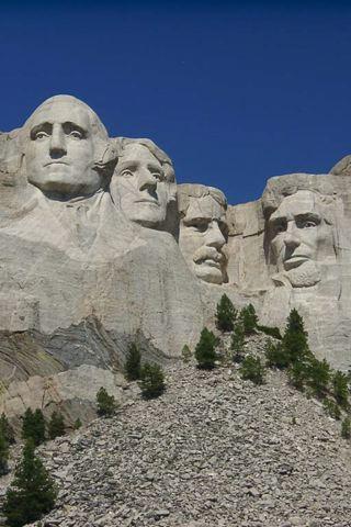 wallpaper iPhone Mount Rushmore