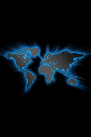 wallpaper iPhone World Map