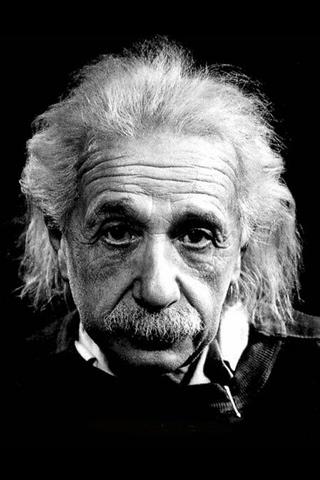wallpaper iPhone Albert Einstein