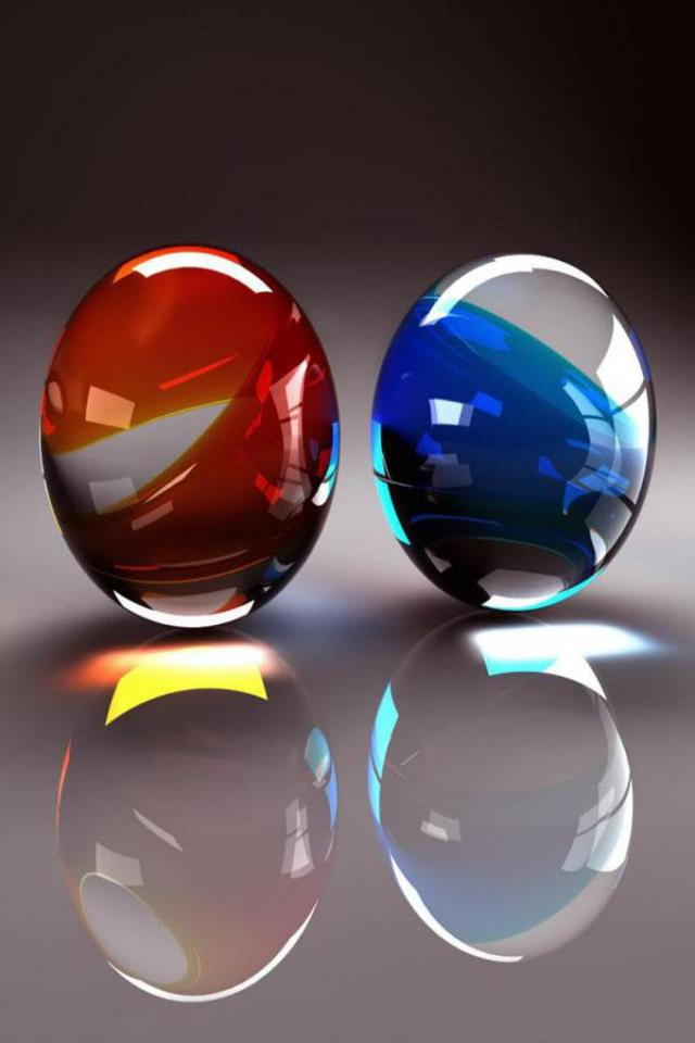 wallpaper iPhone Glass Eggs