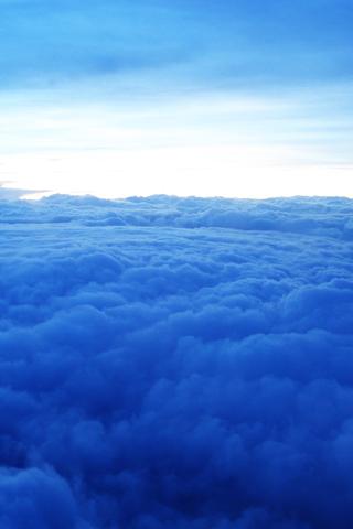 wallpaper iPhone Ciel nuage 308