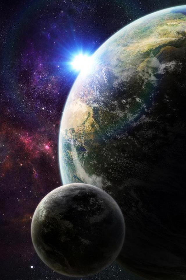 wallpaper iPhone Planets