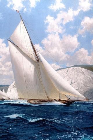 wallpaper iPhone Sailing