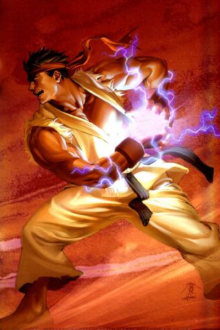 wallpaper iPhone Ryu