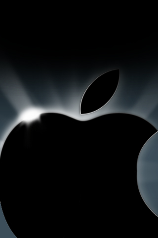 wallpaper iPhone Apple Glow
