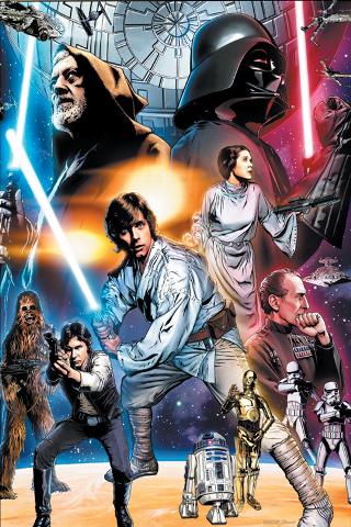 wallpaper iPhone Star Wars