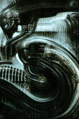wallpaper iPhone Alienation