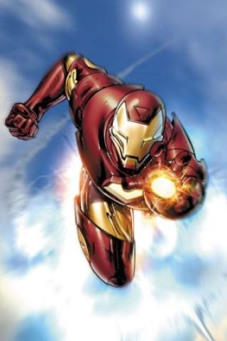 Wallpaper Iphone Invincible Iron Man 2065