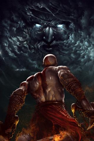wallpaper iPhone God of War III