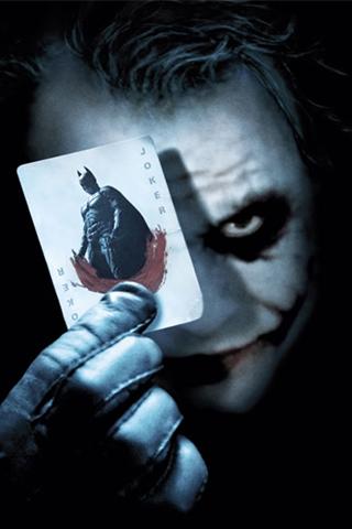 wallpaper iPhone Dark Knight Joker