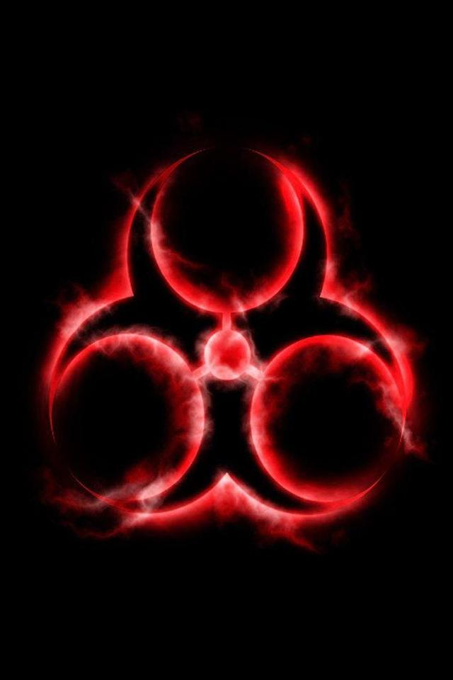 wallpaper iPhone Biohazard