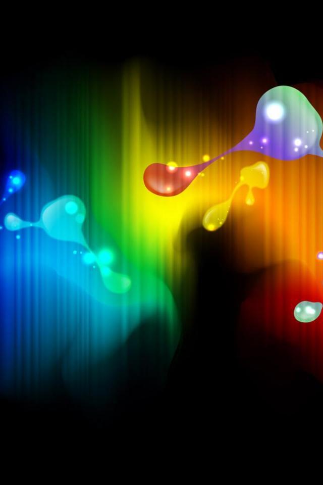 wallpaper iPhone Color Blobs