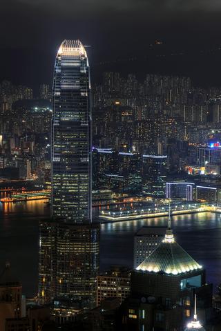 wallpaper iPhone Hong Kong