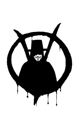 Wallpaper IPhone V For Vendetta 5673