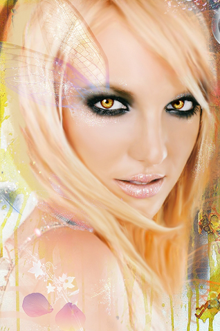 wallpaper iPhone britney iphone ipod touch