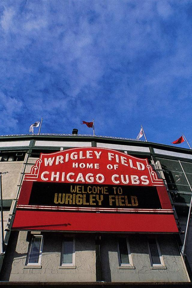 wallpaper iPhone Wrigley Field