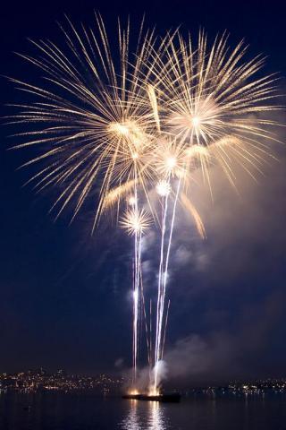 wallpaper iPhone Fireworks