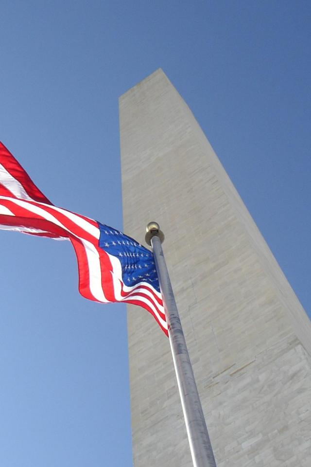 wallpaper iPhone Washington Monument