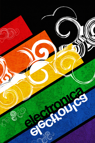 wallpaper iPhone Electronica