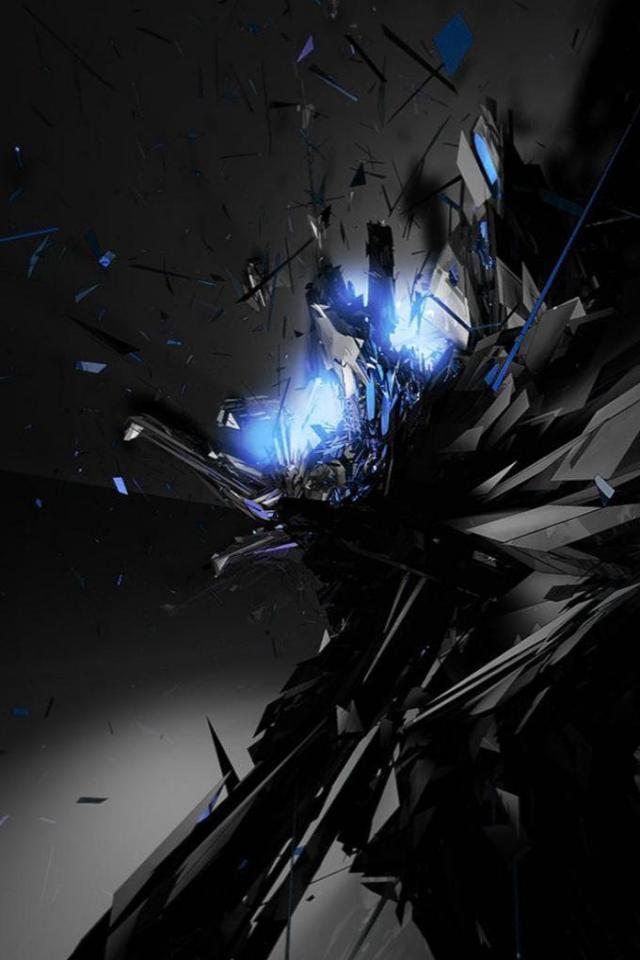 wallpaper iPhone Dark Blue