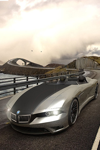 wallpaper iPhone BMW Concept