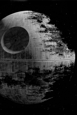 wallpaper iPhone Death Star