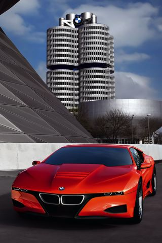 wallpaper iPhone BMW M1 Concept
