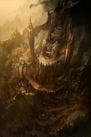 wallpaper iPhone Diablo III Artwork