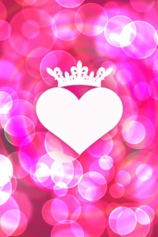 wallpaper iPhone Heart Rules