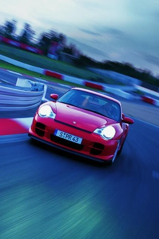 wallpaper iPhone Porsche GT2