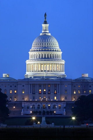 Wallpaper Iphone U S Capitol Night 5578